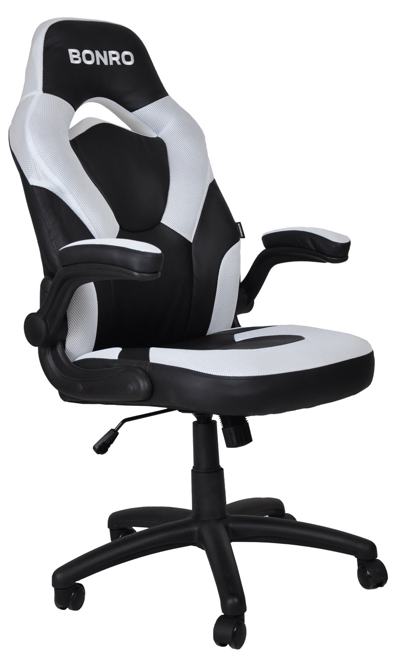 Кресло геймерское Bonro B-office 2 белое
