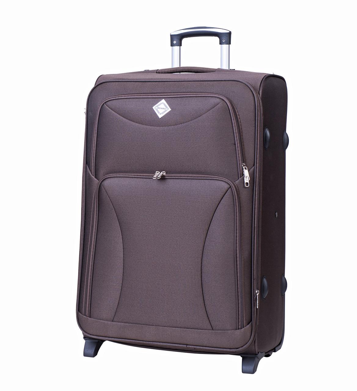 Чемодан Bonro Tourist (большой) коричневый