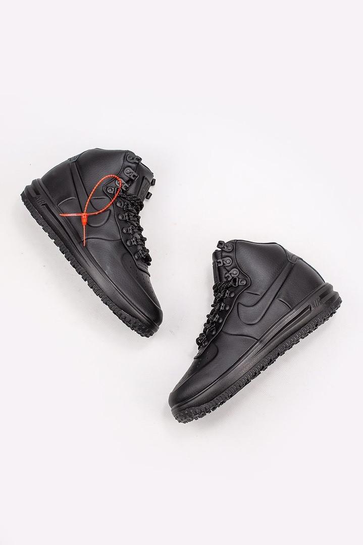 "Кроссовки  мужские Nike Lunar Force 17 Duckboot ""Black"""