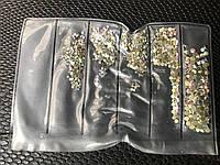 Камни сваровски разного размера Хамелеон S3-SS12 стекло 1440 штук