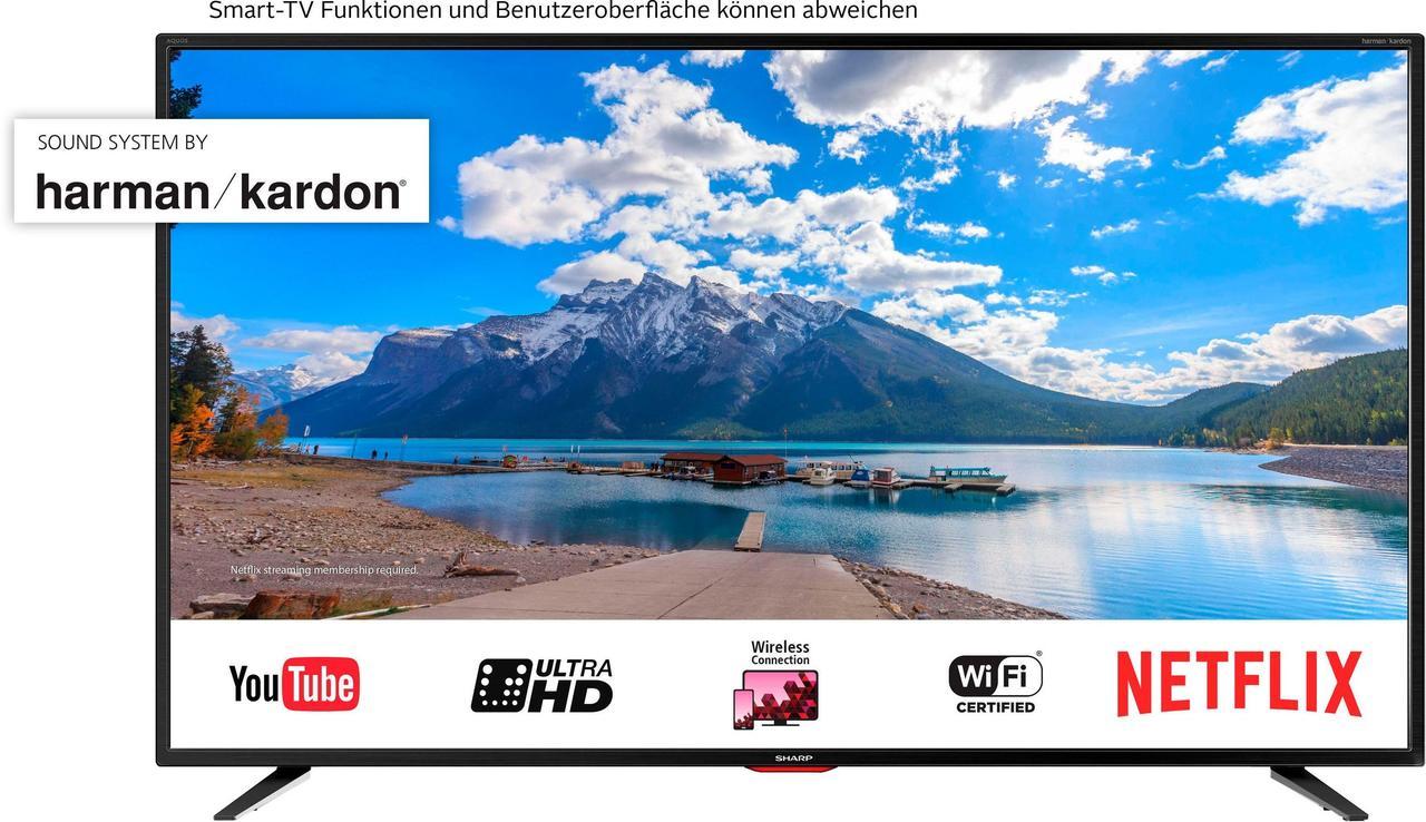 Телевизор Sharp 55BJ5E   (UltraHD / 4K / SmartTV / 400Hz / HDR / DVB-С/T2/S2)