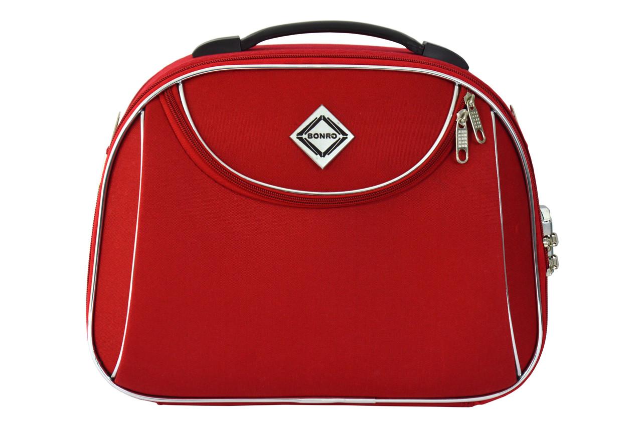 Сумка кейс саквояж Bonro Style (средний) красный