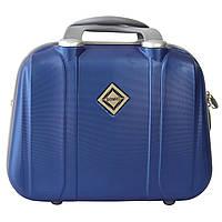 Сумка кейс саквояж Bonro Smile (середній) синій (blue 629)