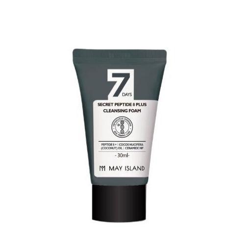 Очищающая пенка с пептидами May Island 7 Days Secret Peptide 8 Plus Cleansing Foam, 30 ml