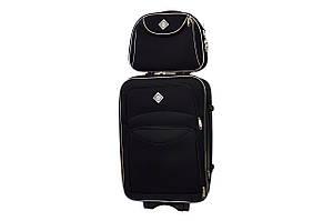 Комплект чемодан + кейс Bonro Style (небольшой) черный