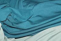 Зеленый(изумруд). С начесом.Ткань вискоза трикотажная стрейчевая, ( теплые водолазки) (1,50м), фото 1