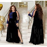Женское вечернее платье в пол большие размеры