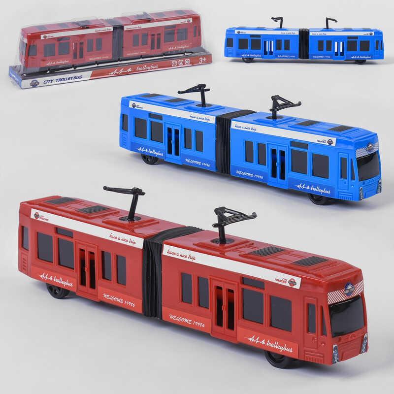 Трамвай KX 905-14 (120/2) 2 кольори, в слюді