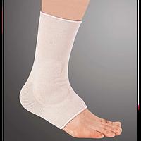 Бандаж эластичный на голеностопный сустав с силиконовыми вставками Ortop ES-ES-906 Тайвань