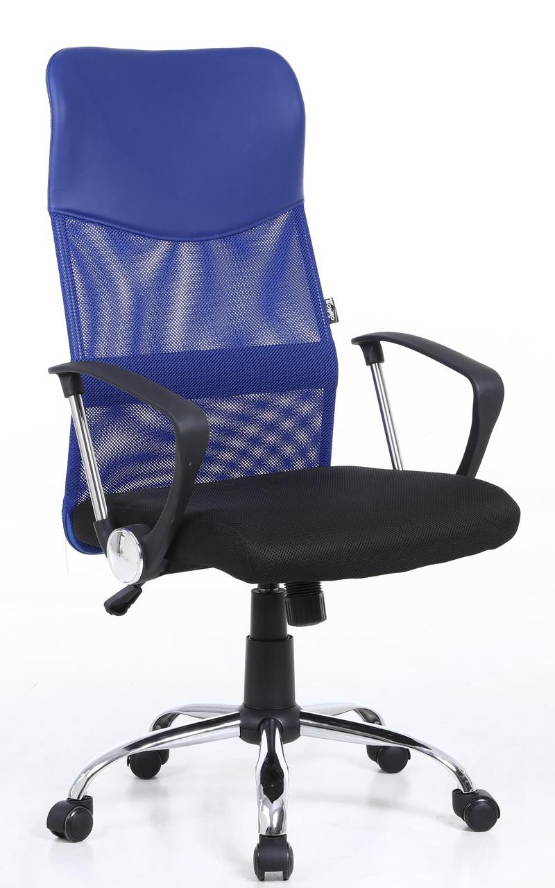 Кресло Bonro Manager синее