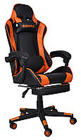 Кресло геймерское Bonro B-2013-1 оранжевое, фото 1