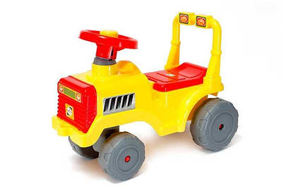 "Беби Трактор 931 (1) цвет - желтый ""ORION"""