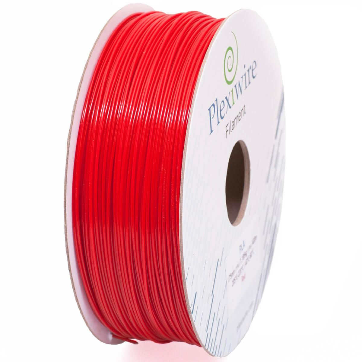 PLA пластик для 3D принтера 1.75 мм Червоний (300 м / 0.9 кг)