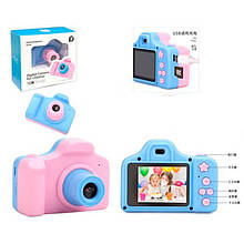 Фотоаппарат QF928 (24шт) 8,5см,аккум,фото/видео,игра4шт,microSDслот,USBзар,2цв,кор, 12,5-11,5-6см