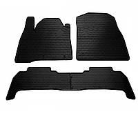 Комплект ковриков Lexus LX 570 (URJ200) 2014-... Stingray резиновые черные