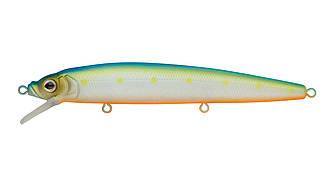 Воблер Минноу Strike Pro Alpha Minnow 115, 115 мм, 12,5 гр, Загл. 0,6м.-1,6м., Плавающий, цвет: S056C Blue Mat