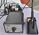 Паяльная станция BONKOTE BK936A паяльник с блоком управления 60 Вт регулируемая температура 200-480 ℃, фото 6