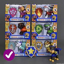 (ЗАКАЗ ПО 6-ШТ) Герои CH-003 (96шт) Пиратские щенки, 7 героев, с открыв рюкзачком16.5*7.2*11.5
