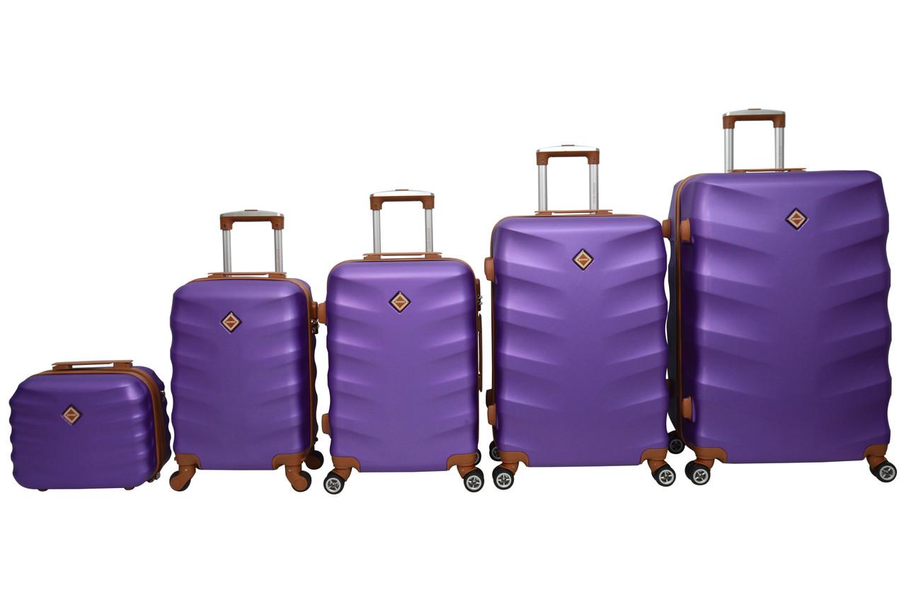 Чемодан Bonro Next набор 5 шт. фиолетовый