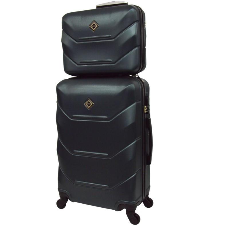 Комплект чемодан + кейс Bonro 2019 (большой) изумрудный