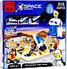 Конструктор детский Brick база астронавтов 513
