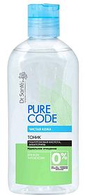 Тоник для всех типов кожи 200 мл Dr.Sante Pure Cоde