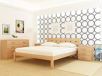 Полуторная деревянная кровать Frankfurt Ясень