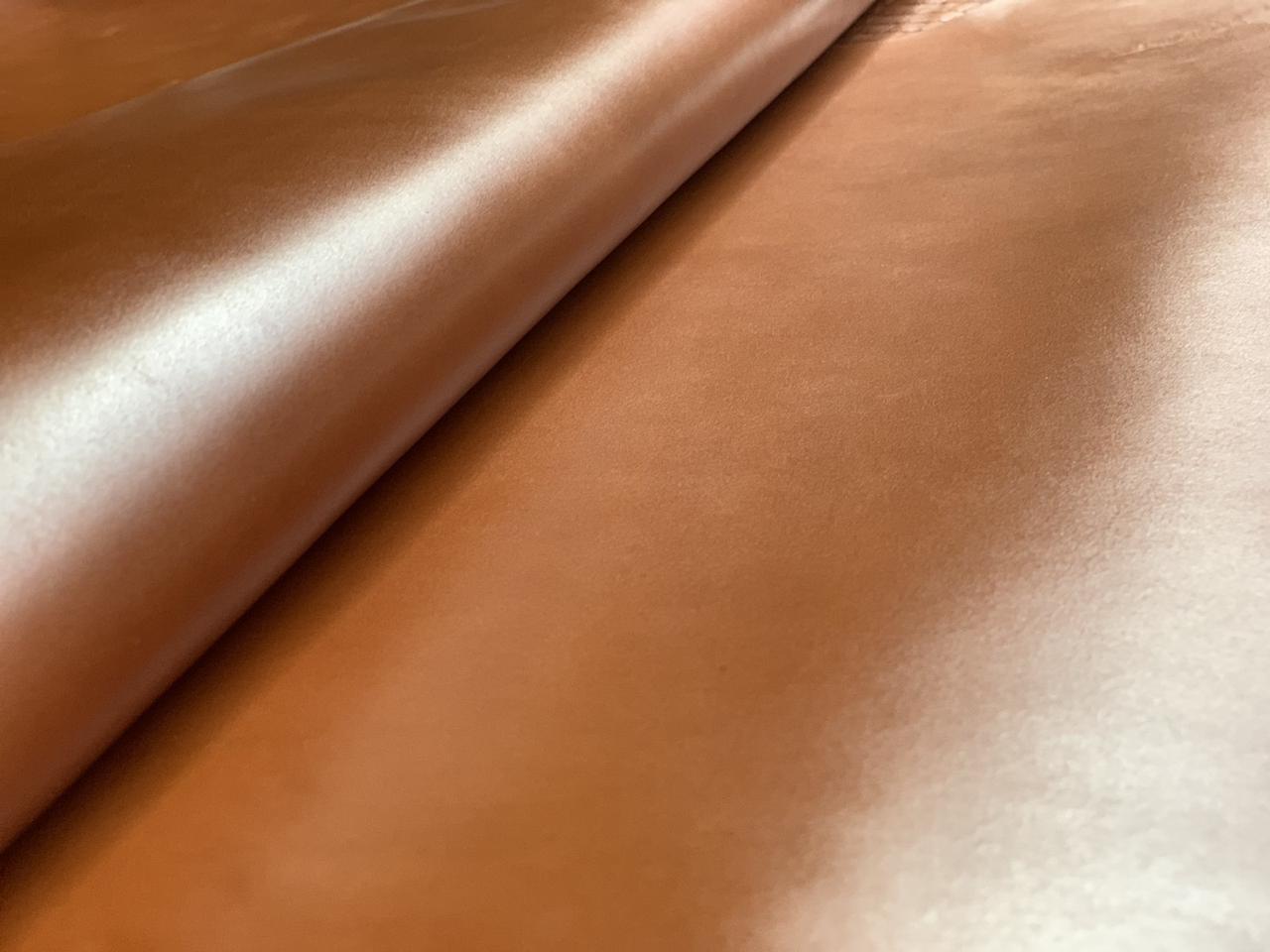Натуральная кожа Авалон (Крейзи Хорс) Коньяк