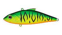 Воблер Раттлин Strike Pro Euro Vibe Floater 80, 80 мм, 15 гр, Тонущий, цвет: GC01S Mat Tiger, (SP-027#GC01S)