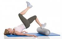 Мультиролл для йоги, фитнеса, массажа, 80х18 см, Togu, черный, фото 1