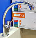 Кухонный латунный смеситель на мойку Haiba FOCUS 777 (HB0138), фото 3