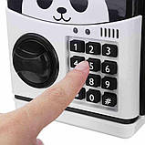 Электронная копилка Панда , детская копилка сейф, детский банкомат с кодовым замком PANDA! Акция, фото 3