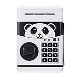 Электронная копилка Панда , детская копилка сейф, детский банкомат с кодовым замком PANDA! Акция, фото 4