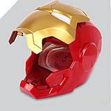 Детский сейф копилка с кодовым замком в виде супергероя Железный человек, фото 3