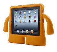 Чехол противоударный детский с ручками iPad 2/3/4 оранжевый