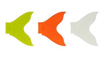 Набор сменных хвостов для воблера Strike Pro X Buster, цвет: Chartreuse, Orange, Glow (3 шт.)