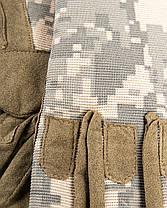Легкие универсальные тактические перчатки, фото 3