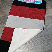 Набор ковриков для ванной комнаты Vonaldi красный 60*100, фото 1