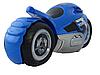 Радиоуправляемый мотоцикл Drift motorcycle mist spray car Синий Мотоцикл-перевертыш., фото 4