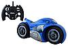 Радиоуправляемый мотоцикл Drift motorcycle mist spray car Синий Мотоцикл-перевертыш., фото 6
