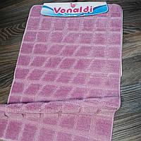 Набор ковриков для ванной комнаты Vonaldi фиолетовый 60*100, фото 1