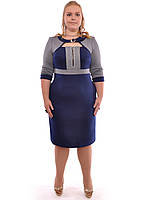 Платье в офис большей размер, фото 1