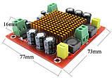 Одноканальний цифровий підсилювач звуку TPA3116D2 моно 150 Вт DC12V- 26V, фото 4