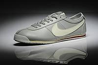 Кроссовки мужские Nike Cortez New Style (найк кортез) серые