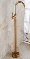 Напольный смеситель для умывальника (Раковины) ORTIS Bronze (Бронза)
