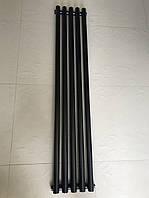 Радиатор дизайнерский вертикальный MATERA 5/1500 Черный матовый 1500*295