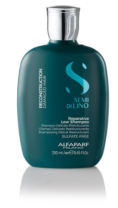 Шампунь Alfaparf Reconstruction Semi di Lino для пошкодженого волосся 250 мл.