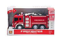Игрушка Wenyi Машинка инерционная Пожарная машина (WY 350 A)
