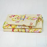 Комплект постельного белья детский ранфорс 4457 желтый ТМ Вилюта, фото 2