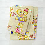 Комплект постельного белья детский ранфорс 4457 желтый ТМ Вилюта, фото 3